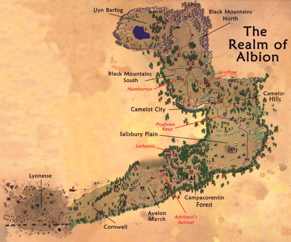 Camelot Map